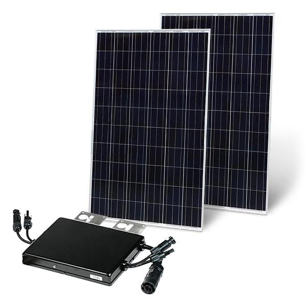 ready-to-plug-in photovoltaic modules 560Wp